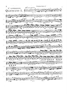 String Quintets, Op.28: Quintet No.4 in C Major, G.310 by Luigi Boccherini
