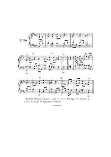 Choix de chorals: Choral No.70 by Johann Sebastian Bach
