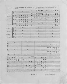 Misericordias Domini for Double Choir: No 1 em C maior by Francesco Durante