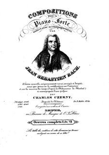 Six Little Preludes, BWV 933-938: Para Piano by Johann Sebastian Bach