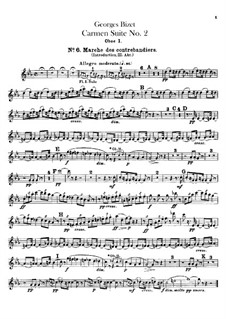 Second Suite: Oboes e coral ingleses by Georges Bizet