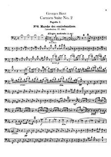 Second Suite: parte fagotes by Georges Bizet