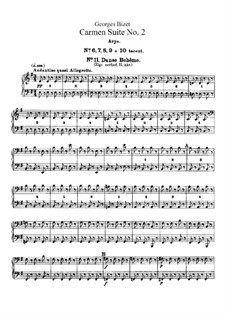 Second Suite: parte harpa by Georges Bizet