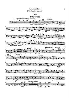 Suite I: Parte contrabaixo by Georges Bizet