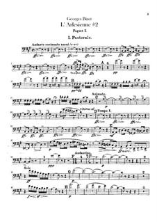 Suite II: parte fagotes by Georges Bizet