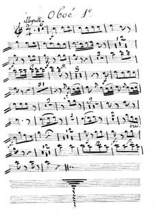 Le calife de Bagdad: Ma Zetulbé – oboe I part by Adrien Boieldieu