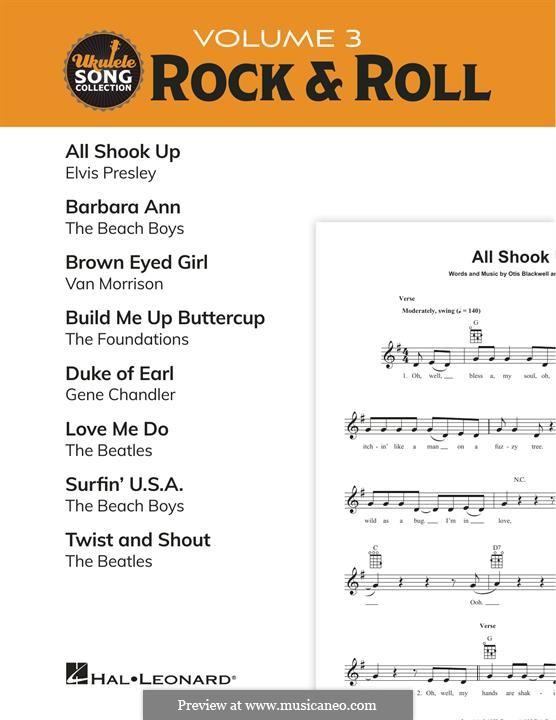 Ukulele Song Collection, Volume 3: Rock & Roll (Various): Ukulele Song Collection, Volume 3: Rock & Roll (Various) by John Lennon, Paul McCartney, Van Morrison, Gus Chandler