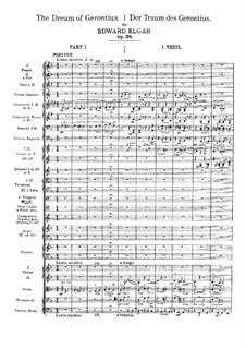 The Dream of Gerontius, Op.38: movimento I by Edward Elgar