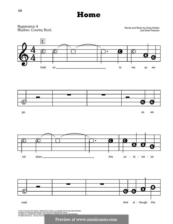 Home: Para Piano by Phillip Phillips