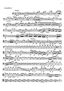 Leonore. Overture No.2 in C Major, Op.72a: fagotes partes I-II by Ludwig van Beethoven