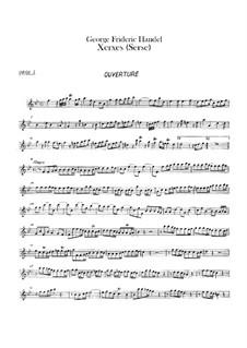 Complete Opera: parte de oboes by Georg Friedrich Händel