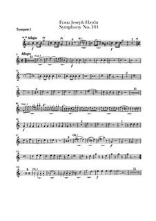 Symphony No.104 in D Major 'London', Hob.I/104: trompeta partes I-II by Joseph Haydn