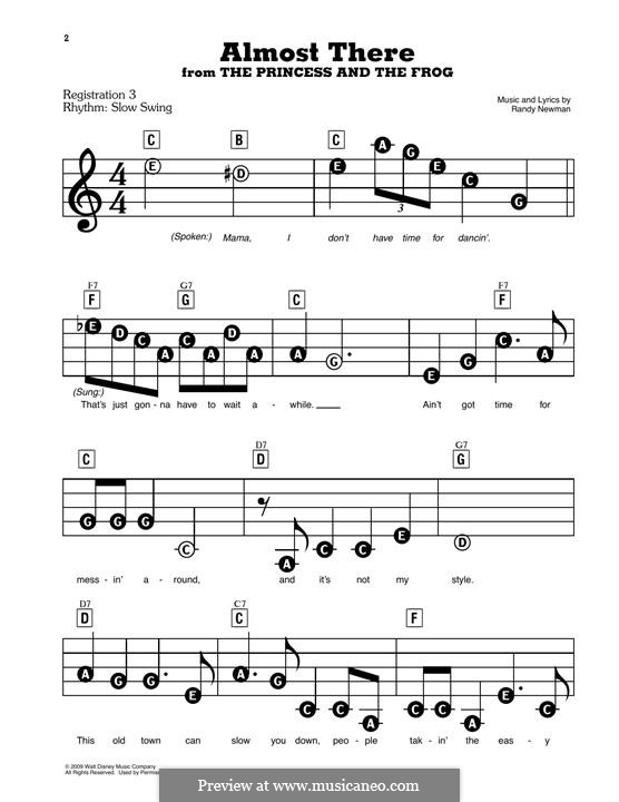 Almost There: Facil para o piano by Randy Newman