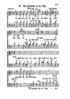 Die Harmonie in der Ehe (Harmony in Marriage), Hob.XXVc/2: Die Harmonie in der Ehe (Harmony in Marriage) by Joseph Haydn