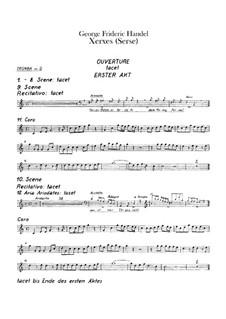 Complete Opera: parte trompeta by Georg Friedrich Händel