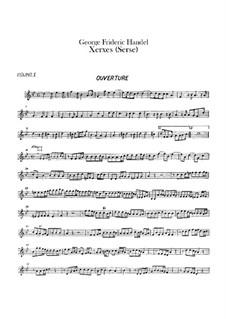 Complete Opera: violino parte II by Georg Friedrich Händel