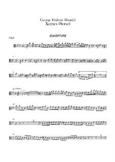 Complete Opera: parte viola by Georg Friedrich Händel