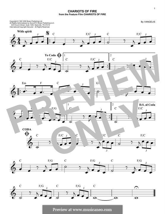 Chariots of Fire: para teclado by Vangelis