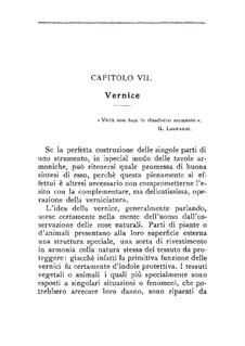 Il liutaio: Chapters VII-VIII by Domenico Angeloni