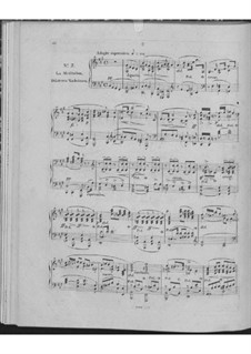 Huit nocturnes romantiques de différents caractères, Op.604: No.7 La meditation by Carl Czerny
