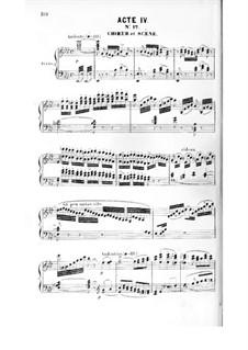La magicienne: acto IV, para solistas,coral e piano by Fromental Halevy