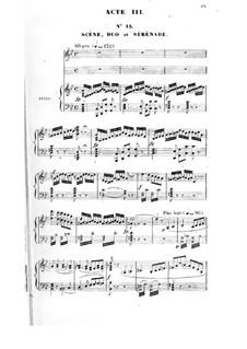 La magicienne: ato III, para solista,coral e piano by Fromental Halevy