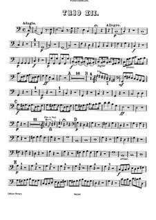 Piano Trio in C Major: parte violoncelo by Joseph Haydn