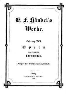 Pharamond, HWV 39: Partitura completa by Georg Friedrich Händel
