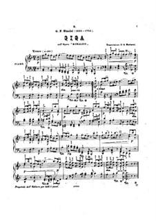 Gigue: Para Piano by Georg Friedrich Händel
