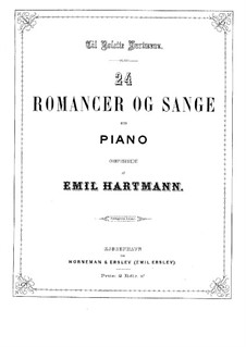 Romances and Songs: Romances and Songs by Emil Hartmann