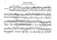 Piano Trio No.42 in E Flat Major, Hob.XV/30: versão para piano de quatro mãos by Joseph Haydn