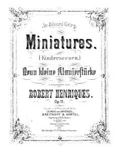 Kinderszenen, Op.11: Kinderszenen by Robert Henriques