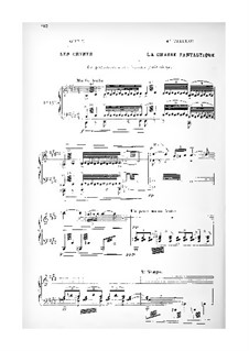 Saint Julien l'hospitalier: Acts II-III. Arrangement for soloists, choir and piano by Camille Erlanger