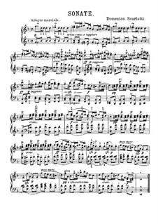 Sonata No.338 in G Minor, K.450 L.338 P.422: Para Piano by Domenico Scarlatti