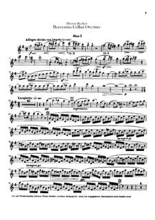 Benvenuto Cellini, H.76 Op.23: abertura - Oboes Parte by Hector Berlioz