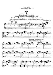 Harold en Italie, H.68 Op.16: parte harpa by Hector Berlioz