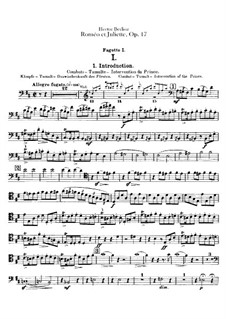 Roméo et Juliette (Romeo and Juliet), H.79 Op.17: parte fagotes by Hector Berlioz