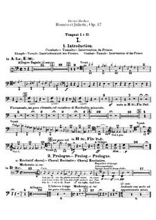 Roméo et Juliette (Romeo and Juliet), H.79 Op.17: Peça para Timpano by Hector Berlioz