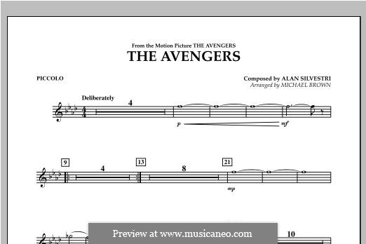 The Avengers: Piccolo part by Alan Silvestri