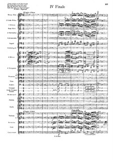 Symphony No.7 in D Minor 'Schweizerische': Movimento IV by Hans Huber