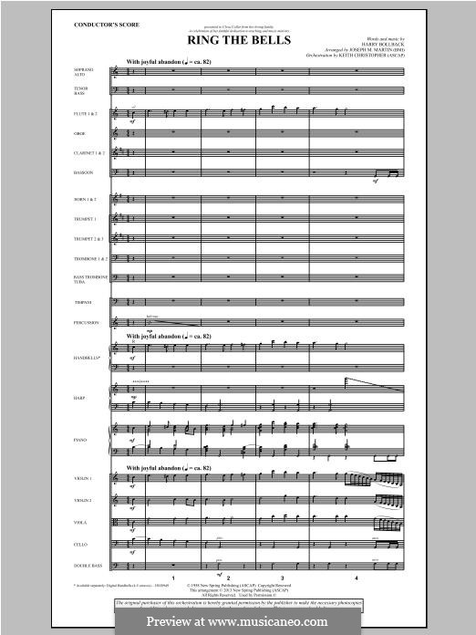 Ring the Bells: partitura by Harry Bollback