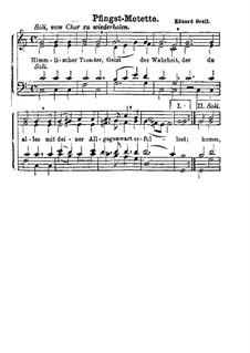 Pfingst-Motette: Pfingst-Motette by Eduard Grell