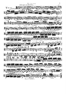 String Trio in F Major, Op.96: parte viola by Franz Krommer