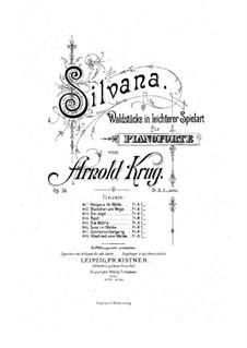 Silvana, Op.56: Silvana by Arnold Krug