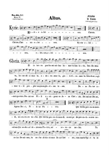 Mass 'Octavi Toni': parte alto by Orlande de Lassus