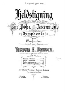 Symphony No.1 in C Major, Op.16: Symphony No.1 in C Major by Victor Bendix