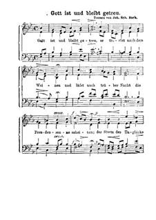 Gott ist und bleibt getreu: Gott ist und bleibt getreu by Johann Sebastian Bach