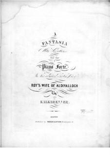 Fantasia No.8 in C Major, Op.37: Fantasia No.8 in C Major by Friedrich Kalkbrenner