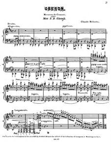 Oberon. Concert Piece: Oberon. Concert Piece by Claude Melnotte