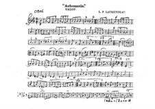 Automania. Galop for Cornet and Orchestra: parte Oboe by Louis-Philippe Laurendeau